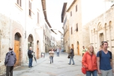 3-stops over exposed. San Gimignano, Italy, tourists, tourist attraction, hill town, Tuscany, Italy