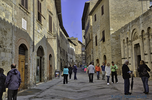 San Gimignano Italy KAC5699_HDR_aurora