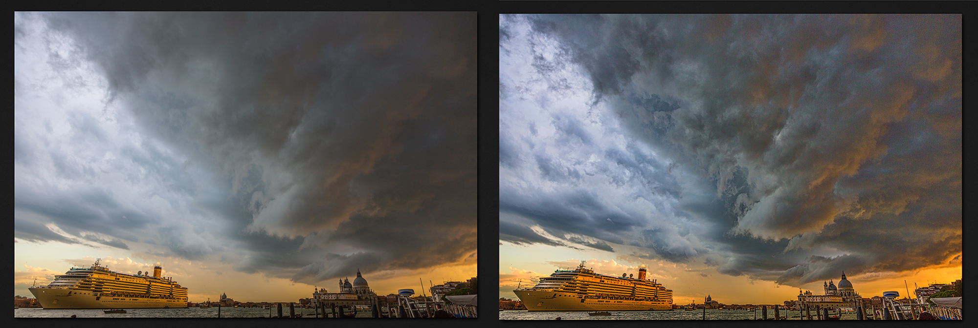 Venice Macphun before and after Intensify