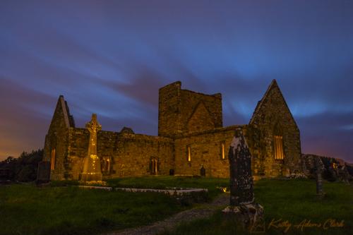 County Mayo; Burrishoole Abbey; Ireland; Ruins