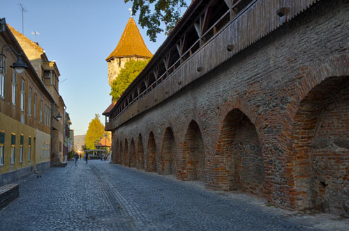Sibiu, Romania, historic center.